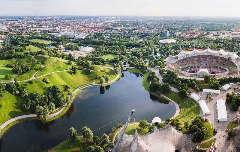 Olympiapark Stadion Besichtigen Hotel Rothof Munchen